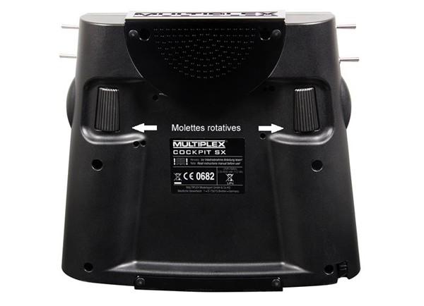 Multiplex//Hitec RC émetteur Valise MPX Professionnel TX /& COCKPIT SX//1-00528
