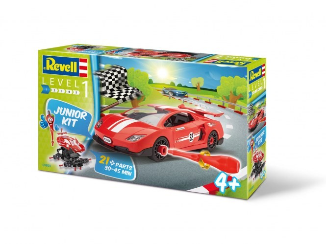 revell 00800 junior kit voiture de course. Black Bedroom Furniture Sets. Home Design Ideas