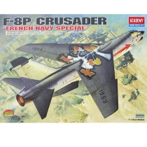 Academy_12559_F-8P_Crusader_French_Navy