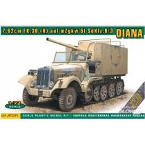 ACE_72574_SDKFZ_6-3_Diana_7.62cm_fk.36_1-72