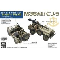 AFV-Club_35S99_IDF_1-4_Ton_Siyur_et_Tolar_M38A1-CJ-5
