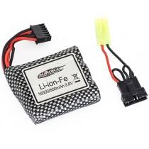 Funtek_Batterie_LiIon_9.6v_800mAh