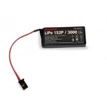 Graupner_S8521_Batterie_Emission_Lipo_1s2p_3,7v_3000mah_MZ12_Pro