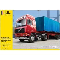 Heller_81702_Volvo_F12-20_Container_Semi_Trailer_1-32