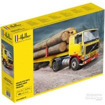 Heller_81704_Volvo_F12-20_Timber_Semi_Trailer_1-32