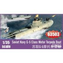 I_Love_Kit_63503_Soviet_Navy_G-5_Class_Motor_Torpedo_Boat_1-35