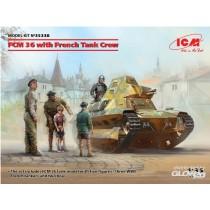 ICM_35338_FCM-36_with_Tank_Crew_1-35