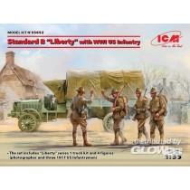 ICM_35652_B-Liberty-et_Infanterie_US