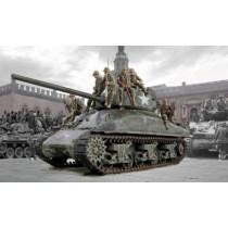 Italeri_6568_M4A1_Sherman_et_Infanterie