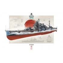 Italeri_846502_World_Of_Warships_IJN_Atago