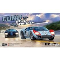 Meng_CS-004_Ford_GT40_Mk.II_66_1-24