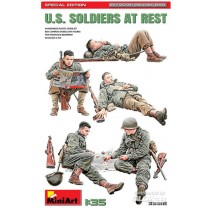 MiniArt_35318_US_Soldiers_At_Rest_Special_Edition_1-35