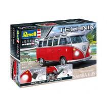 Revell_00455_Volkswagen_T1_Samba_Bus_Technik