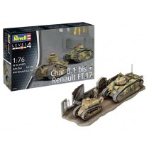 Revell_03278_Chars_B1_Bis_&_Renault _FT17