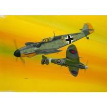 Revell_03710_Combat_Set_BF109G_et_Spitfire_1-72