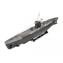Revell_05166_Sous_Marin_Allemand_Type_9