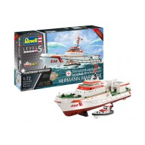 REVELL_05198_SEARCH_ RESCUE_VESSEL_HERMANN_MARWEDE_PLATINIUM_EDITION_1-72