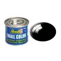 Revell_32107_Pot_14ml_Peinture_Email_Color_Noir_Brillant