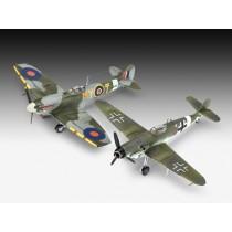 revell_63710_Model-set_combat_set_bf109g_et_spitfire_1-72