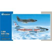 Special-Hobby_SH48126_F-86K_Armee_de_l_Air_et_Bundesluftwaffe_1-48