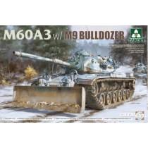 Takom_2137_M60A3_With_M9_Bulldozer_1-35