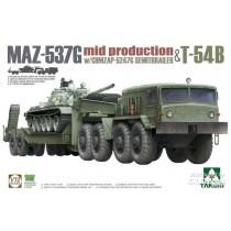 Takom_5013_MAZ-537G _ChMZAP-5247G _Semi-trailer_mid_production_T-54B_1-72