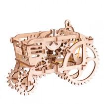 Ugears_70003_Puzzle_3D_Mecanique_en_Bois_Tracteur