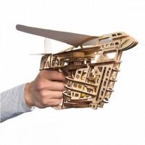 Ugears_70075_Puzzle_3D_Mecanique_en_bois_Aero_Lanceur